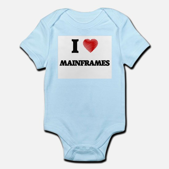 I Love Mainframes Body Suit