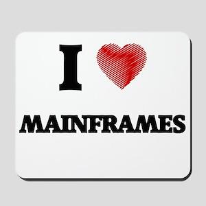 I Love Mainframes Mousepad