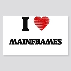 I Love Mainframes Sticker