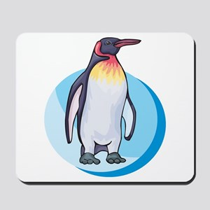 King Penguin Design Mousepad