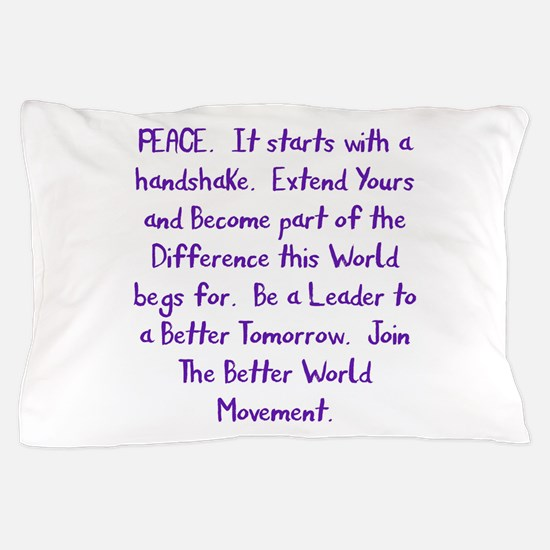 Be A Leader Pillow Case