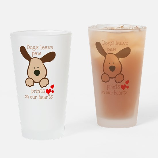 Cute Dog lover Drinking Glass
