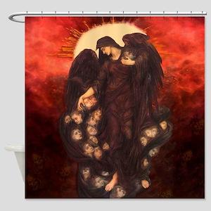 Angel of Death Shower Curtain