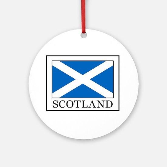 Scotland Round Ornament