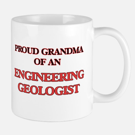 Proud Grandma of a Engineering Geologist Mugs
