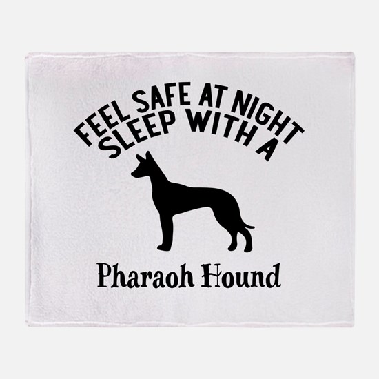 Feel Safe At Night Sleep With Pharao Throw Blanket