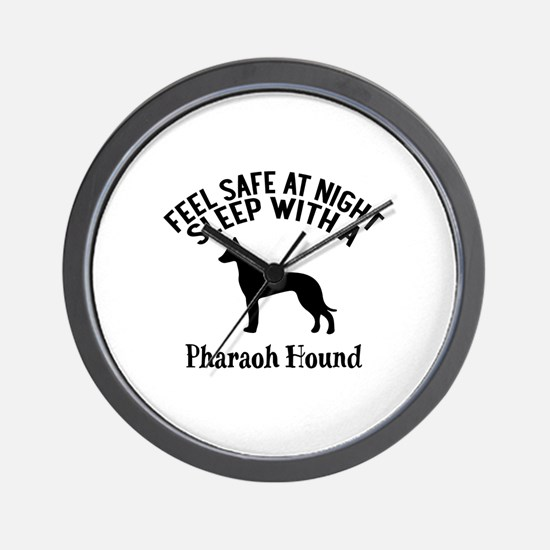 Feel Safe At Night Sleep With Pharaoh H Wall Clock