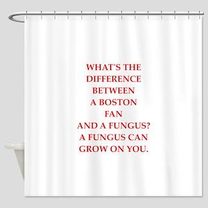 boston fan Shower Curtain
