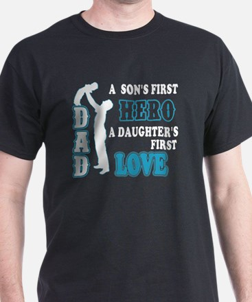 Cute Hero dad T-Shirt