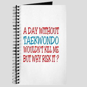 A day without Taekwondo Journal