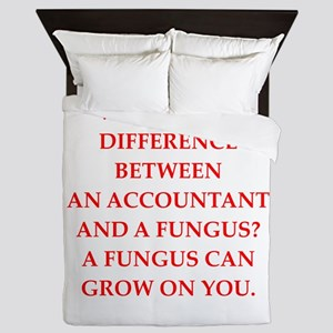 accountant Queen Duvet