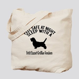Feel Safe At Night Sleep With petit basse Tote Bag