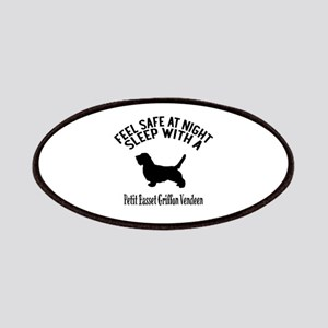Feel Safe At Night Sleep With petit basset g Patch