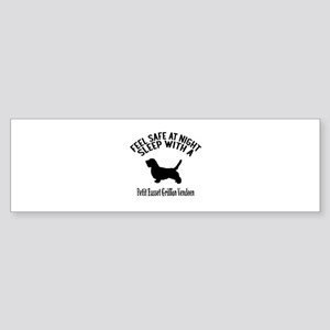 Feel Safe At Night Sleep With pet Sticker (Bumper)