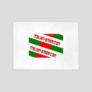 Italian-American Gino's fave 5'x7'Area Rug