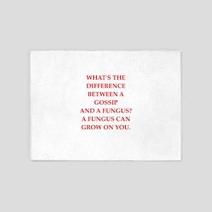 gossip 5'x7'Area Rug