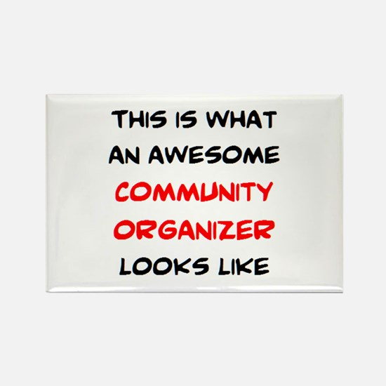 awesome community org Rectangle Magnet