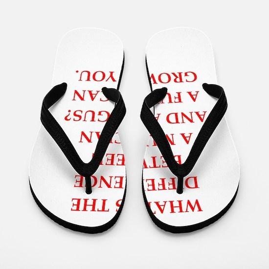 funny fungus joke Flip Flops