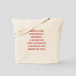 funny fungus joke Tote Bag