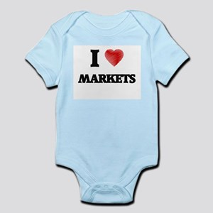 I Love Markets Body Suit