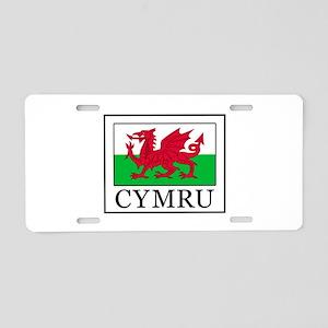 Cymru Aluminum License Plate