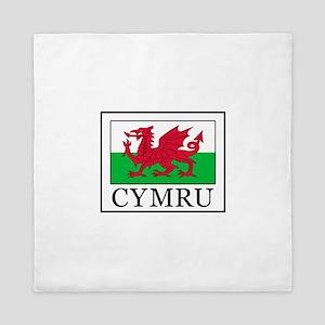 Cymru Queen Duvet
