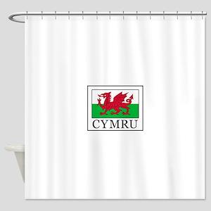Cymru Shower Curtain