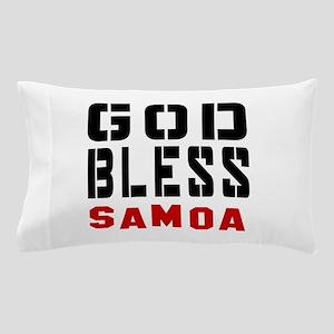 God Bless Samoa Pillow Case