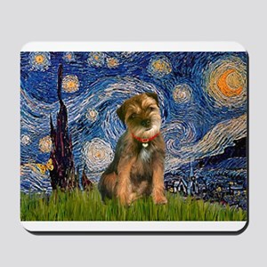 Starry Night/Border T Mousepad