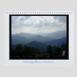 Blue Ridge Mountains  North Carolina Wall Calendar