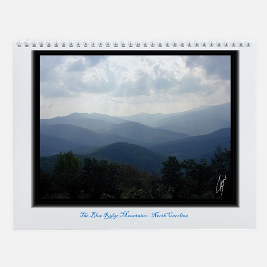 Blue Ridge Mountains  North Carolina Wall Calendar