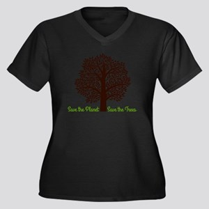 Save the Planet . . . Save the T Plus Size T-Shirt