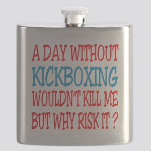 A day without Kickboxing Flask