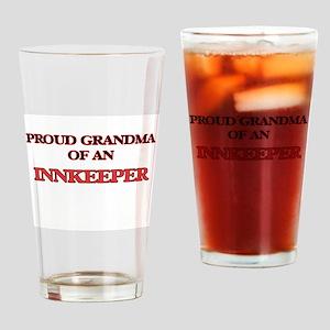 Proud Grandma of a Innkeeper Drinking Glass