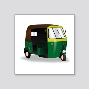 Indian Autorickshaw Sticker