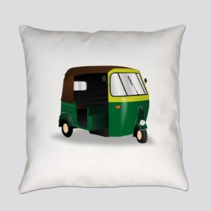 Indian Autorickshaw Everyday Pillow