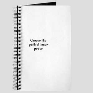 Choose the path of inner peac Journal
