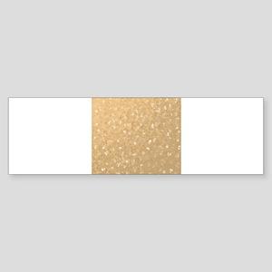 collage of many small checks Bumper Sticker