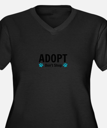 Adopt Plus Size T-Shirt
