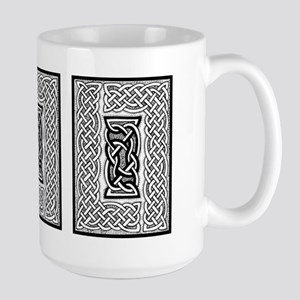 Celtic Knotwork Framing Large Mug