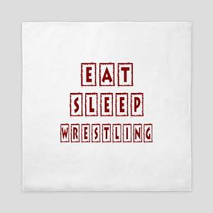 Eat Sleep Wrestling Queen Duvet