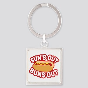 Sun's Out Buns Out Keychains