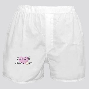 Promise Ring One Life One Love Boxer Shorts