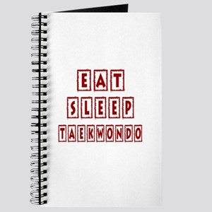 Eat Sleep Taekbondo Journal