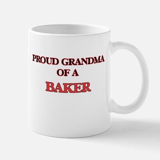Proud Grandma of a Baker Mugs