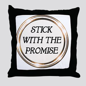 Chastity Promise. Love Promise. Throw Pillow