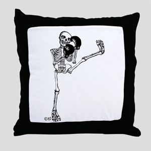 Kickboxer Throw Pillow