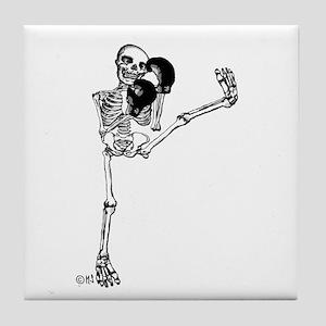 Kickboxer Tile Coaster
