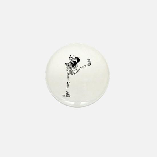 Kickboxer Mini Button