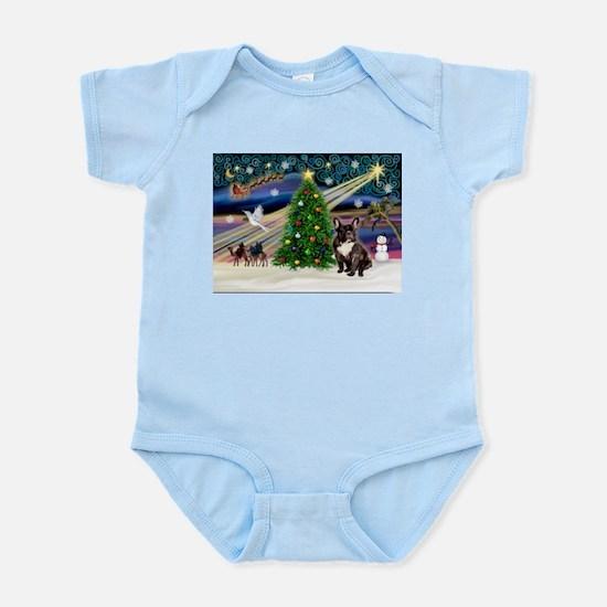 XmasMagic/French BD (br) Infant Bodysuit